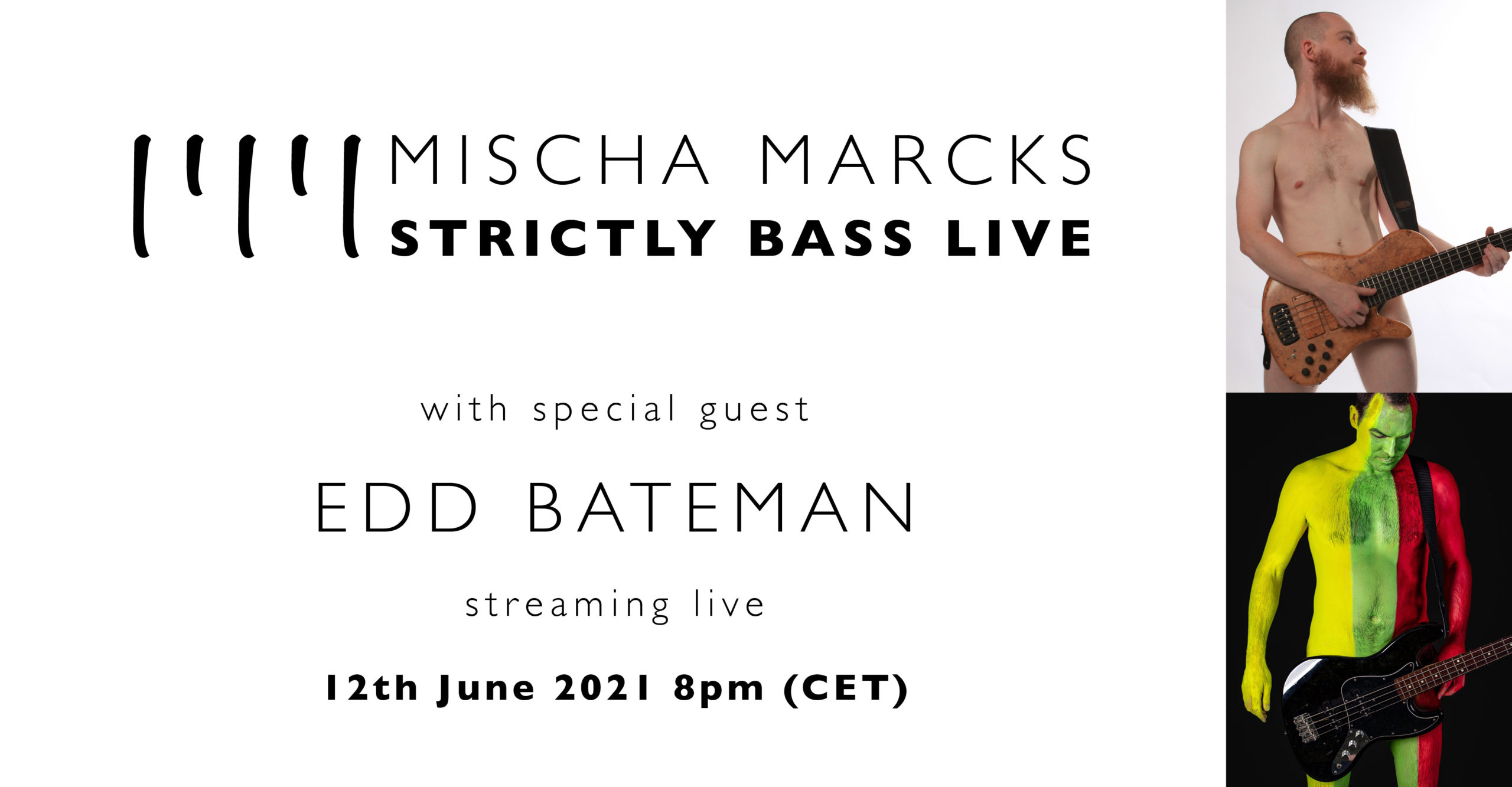 STRICTLY BASS LIVE with special guest Alex Lofoco