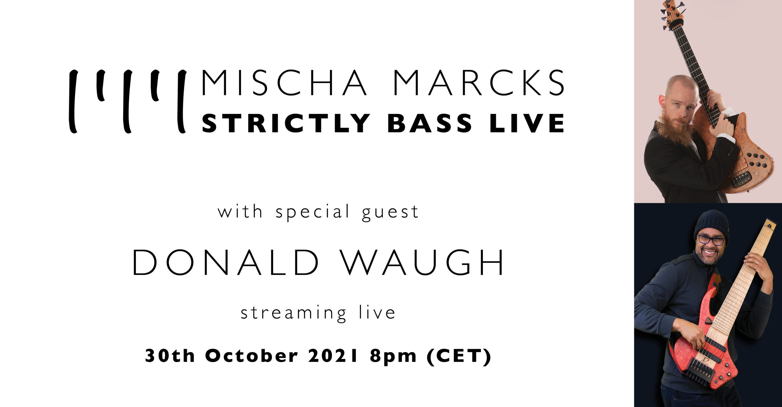 STRICTLY BASS LIVE with special guest Nick Schendzielos