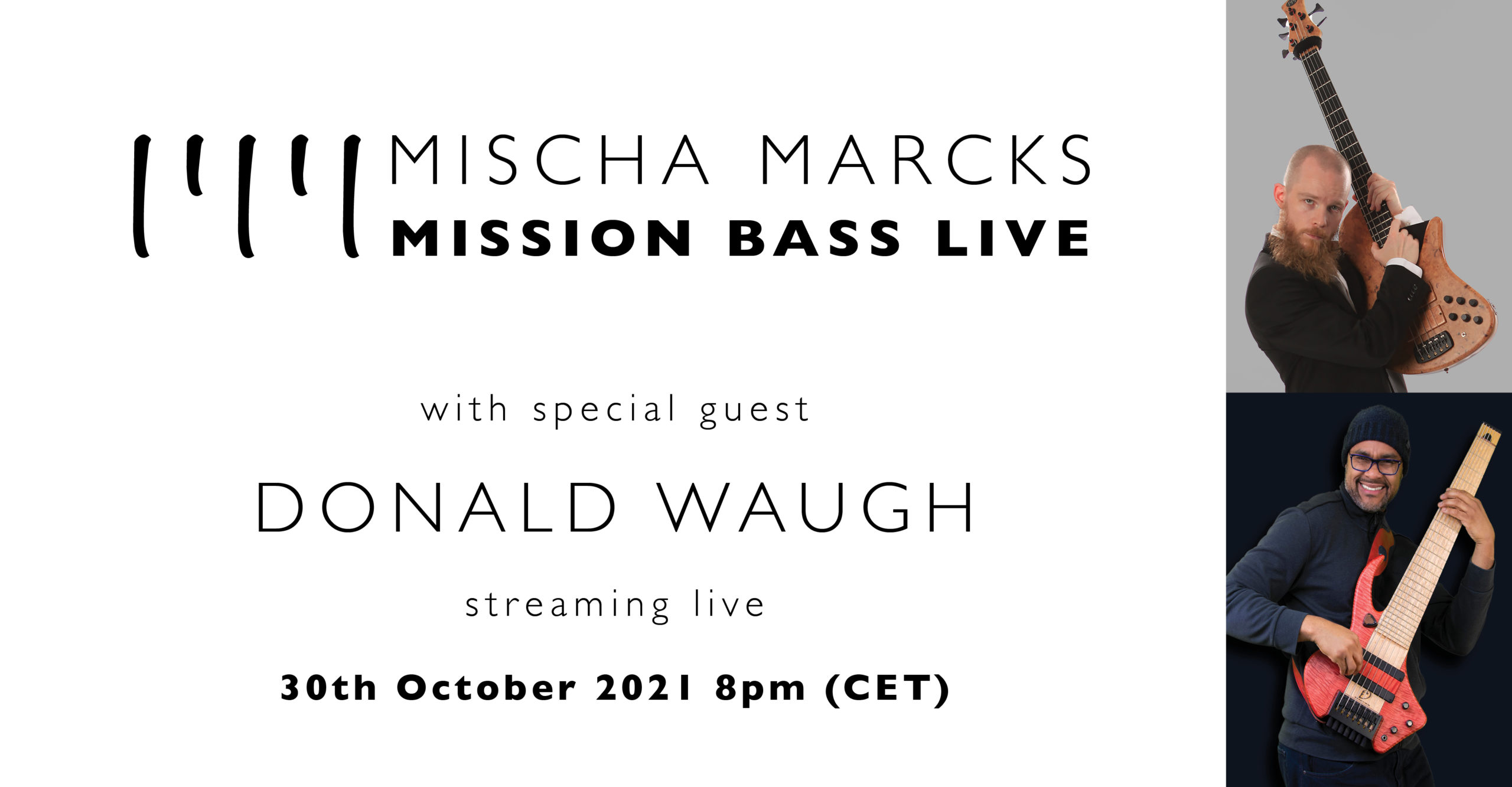 Mischa Marcks presents Mission Bass Live featuring Donald Waugh